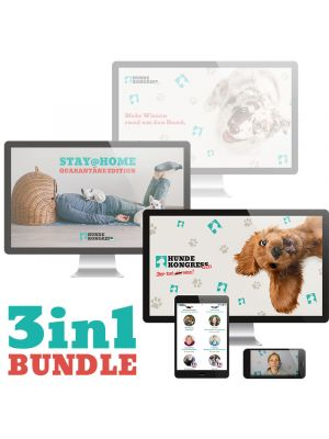 Hundekongress-Bundle 1+2+Stay@Home